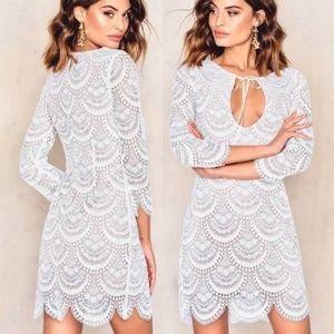 For Love and Lemons Rosalita Mini Dress